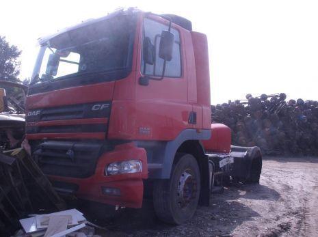 - interer salona kabiny cabina para DAF CF - 65/75/85 (2004 god.) camião