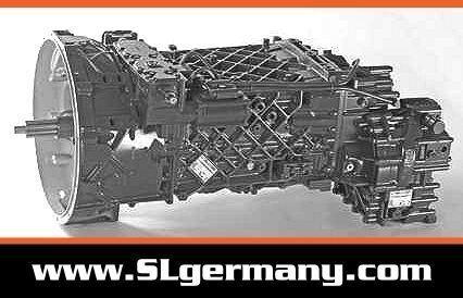 ZF 6 WG 201, 6 WG 260, 6 WG 210, 16 AS 2601 caixa de velocidades para grua móvel