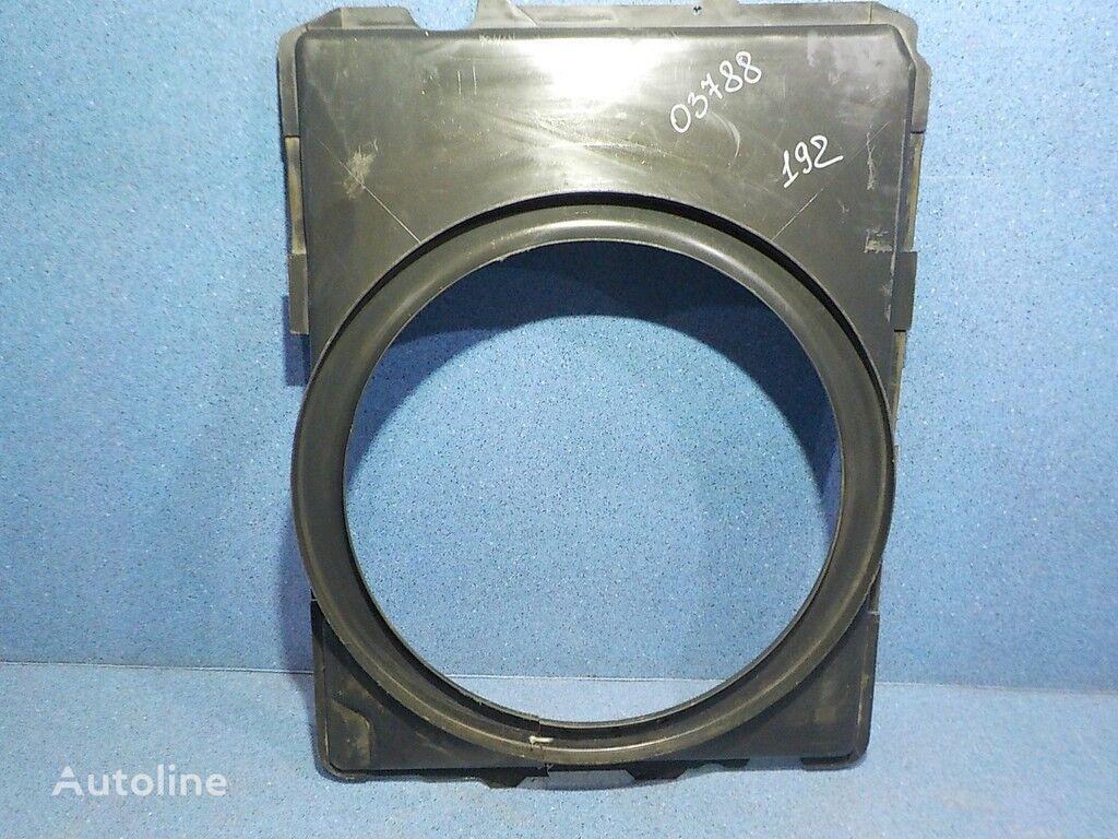 Diffuzor ventilyatora Mercedes Benz caixa do ventilador para camião