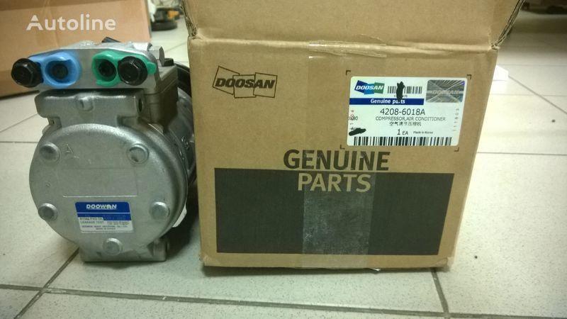 Doosan compressor air conditioner (kompressor) compressor pneumático para DOOSAN DL400 carregadeira de rodas novo