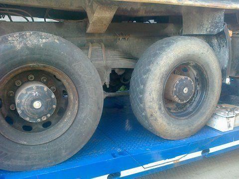 Niemcy 6x4 8x4 eixo para MAN 26-403 camião