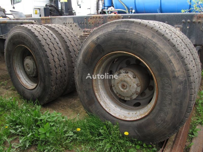 TYLNE MOSTY TANDEM, 2 X REAR DIFFERENTIAL MAN 8X4 8X8 eixo para MAN 35-414 F2000 8X4 camião