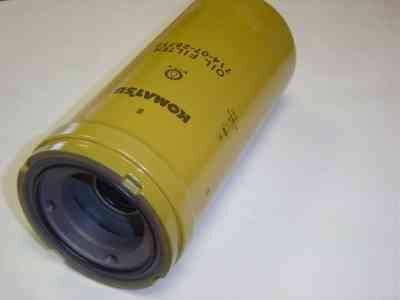 KOMATSU filtro hidráulico para KOMATSU GD555-3; GD555-3C; GD555-5; GD655-3; GD655-3EO; GD655-5; GD675-3 nivelador novo