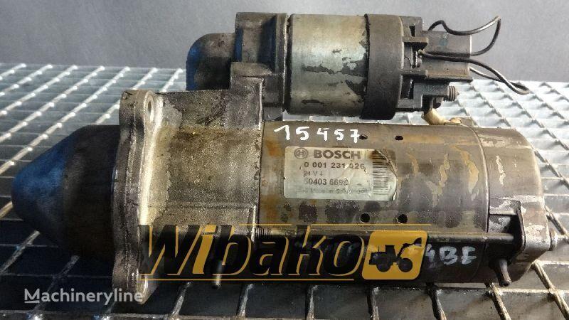 Starter Bosch 0001231026 motor de arranque para 0001231026 outros equipamentos de construção