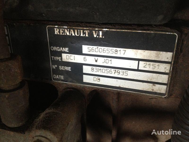Renault dci 6v j01 motor para RENAULT 220.250.270 camião