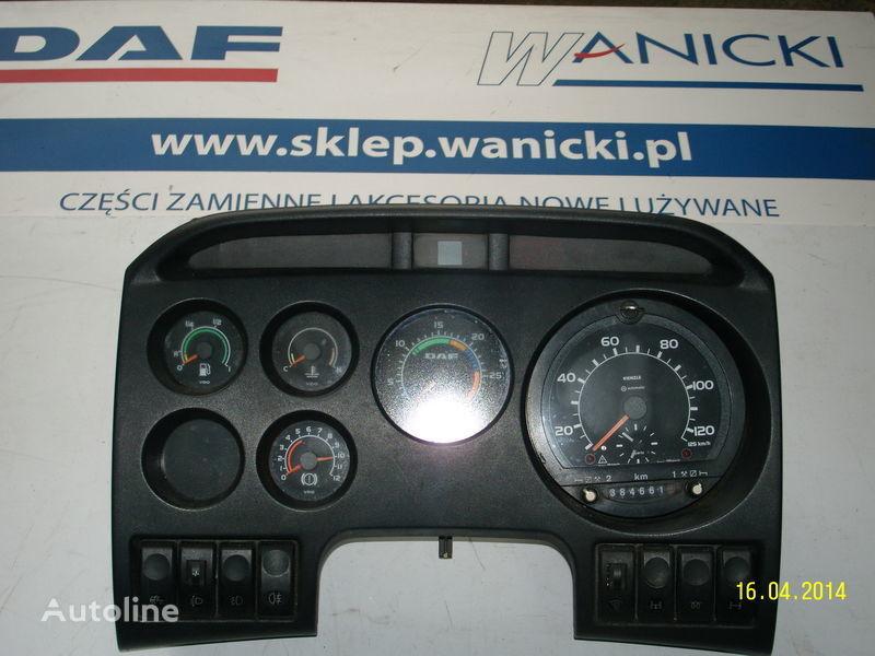 DAF LICZNIKI, ZEGARY , TABLICA PRZYRZĄDÓW,Instrument panel, front painel de instrumentos para DAF camião tractor