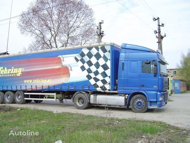 pala de sol para DAF XF95 camião nova
