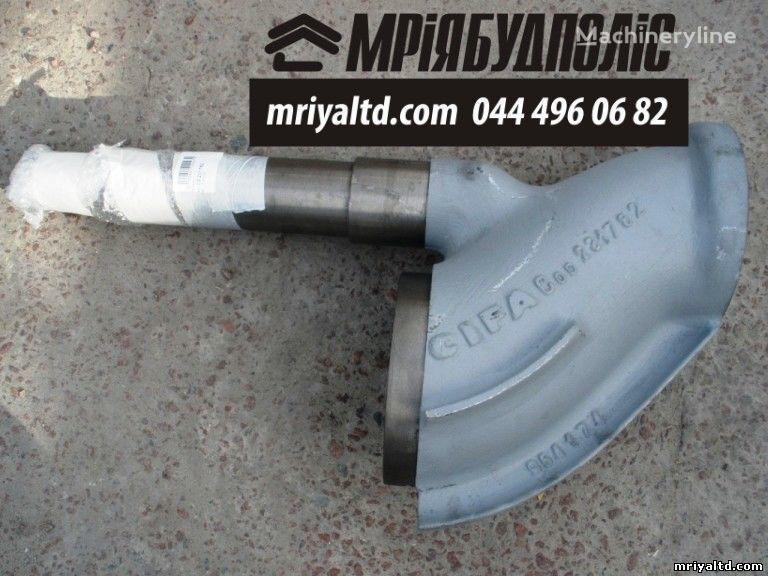 Italiya CIFA 231782 (403278) S-Klapan (S-Valve) Shiber dlya betononasosa peças sobressalentes para CIFA bomba de betão