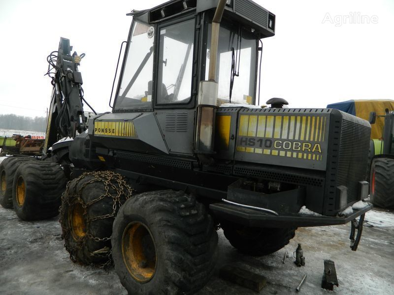 b/u zapchasti/ used spare parts peças sobressalentes para PONSSE COBRA HS10 máquina de ceifa