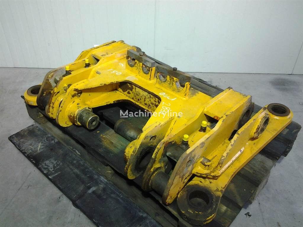 quick coupler para AHLMANN AZ150/AS150 carregadeira de rodas