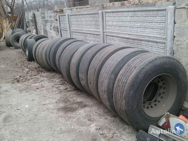 Michelin Bridgestone, Dunlop, Sava  385/65 R 22.50 pneu de camião