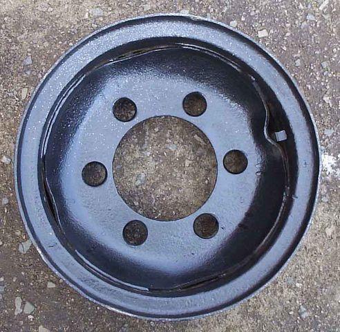 8,25-15 disco de roda para empilhadeira novo