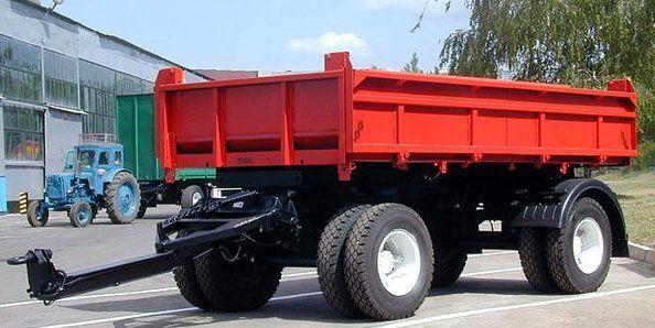 KAMAZ SZAP-8543 reboque basculante novo