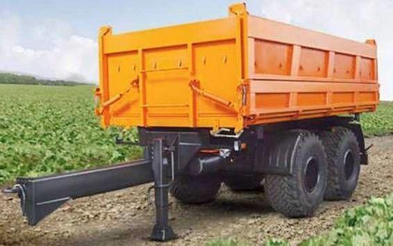 KAMAZ SZAP-8582T reboque basculante novo
