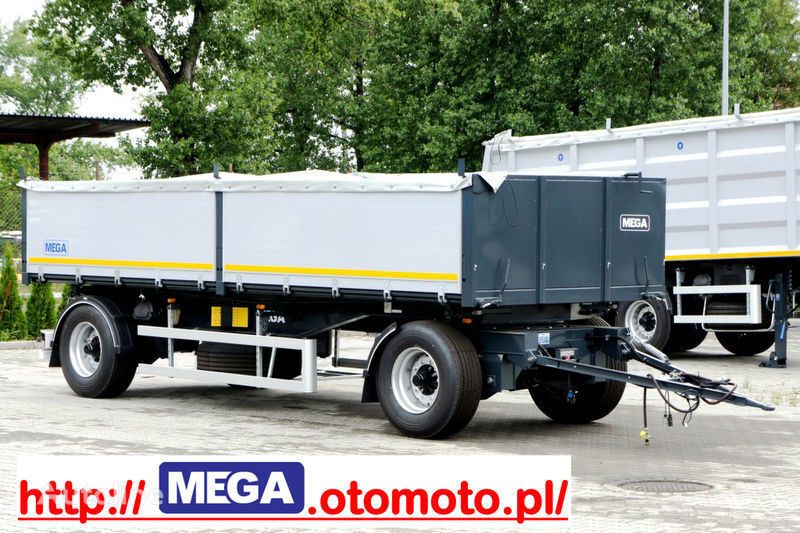 MEGA 3 x way dump / 2 axel / alu bort / grainhole reboque basculante novo