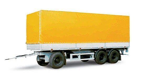 MAZ 870100-3010 reboque de toldo novo