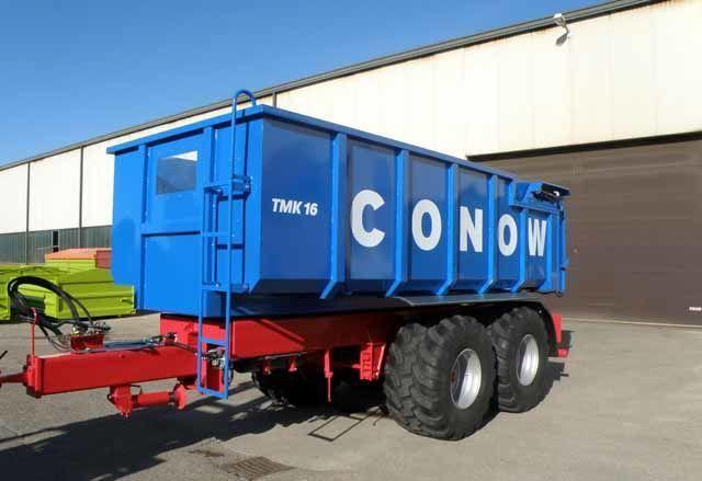 CONOW Tandem-Dreiseitenkipper (TMK 16) reboque de transporte de cereais novo
