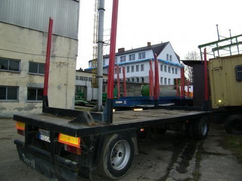TRAILOR R 202 EN 3 L reboque de transporte de madeira