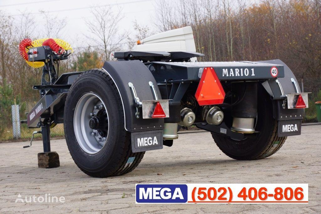 MEGA 1 Achse Dolly fur Kipper / Hydraulik Pumpe / FERTIG  reboque dolly novo