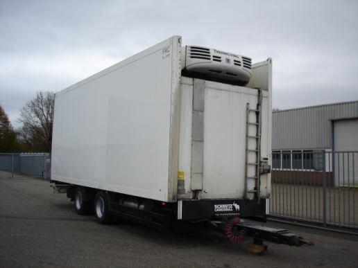 SCHMITZ Schmitz Cargobull 2 AXLE TRAILER - FRIGOBOX -THERMOKING TS-500 reboque frigorífico