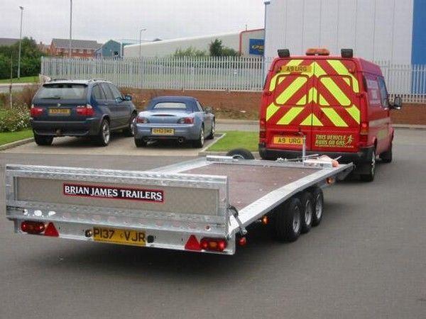 BRIAN James Trailers TT-T-303 reboque porta carros