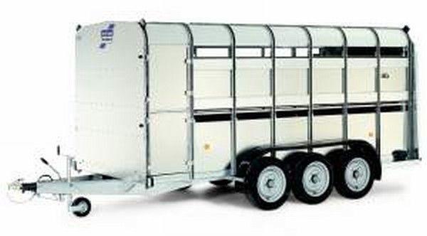 IFOR Williams TA510T reboque transporte animais