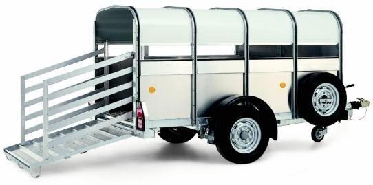 WILLIAMS P8 reboque transporte animais