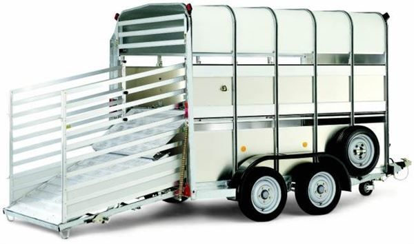 WILLIAMS TA510 reboque transporte animais