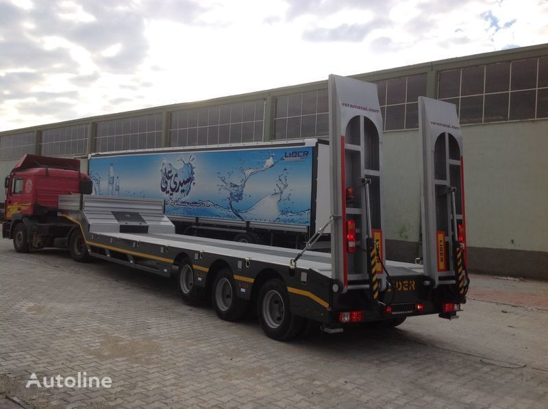 LIDER 2017 MODELS YEAR NEW LOWBED TRAILER FOR SALE semi-reboque baixa novo