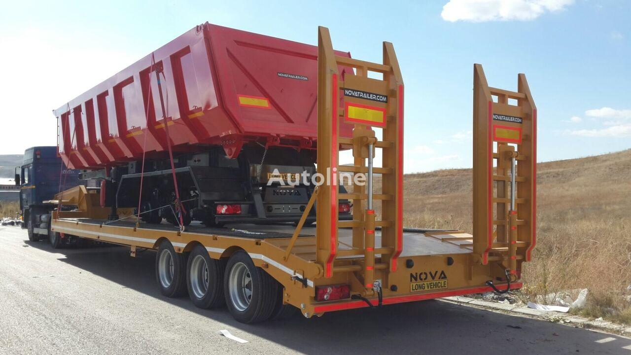 semi-reboque baixa NOVA NEW LOWBED TRAILER PRODUCTION SUITABLE FOR AFRICA novo