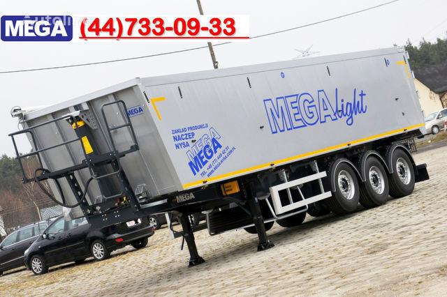 KARGOMIL 50 - 42 m³ SUPER LIGHT alu tipper 5,9T- READY TO TAKE !!! semi-reboque basculante novo