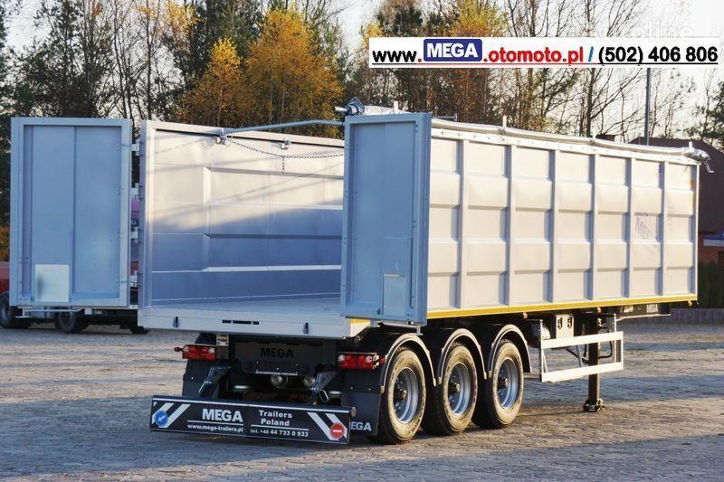 MEGA 10,4 M(L) / 50 M³ DOMEX/OPTIM 650 TIPPER - SCRAP DOOR - READY ! semi-reboque basculante novo