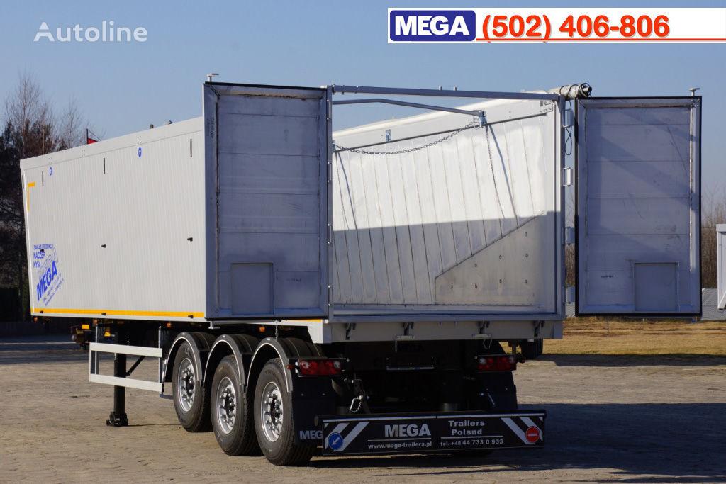 MEGA 10,4 m / 55 M³ ALUM TIPPER SUPER LIGHT 6,2 T ! BRAND NEW ! semi-reboque basculante novo