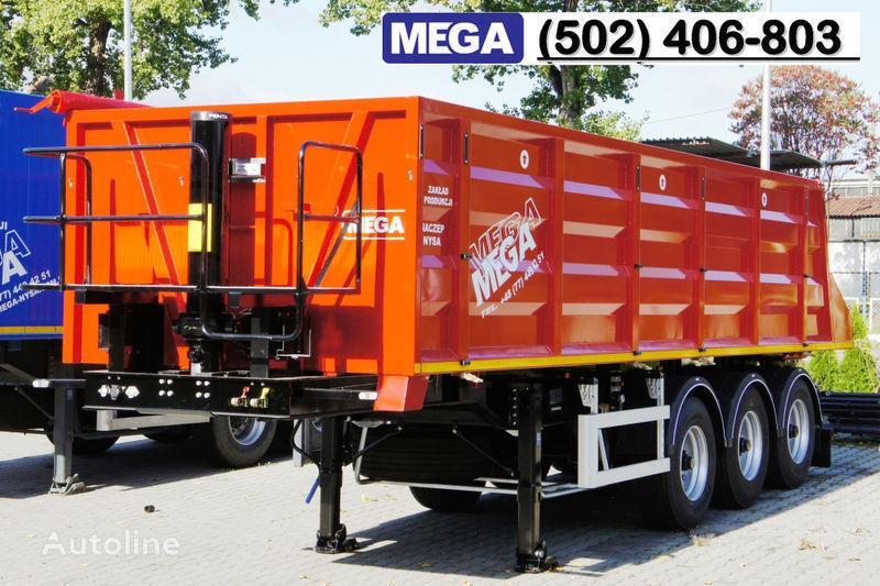 MEGA 28/8360 kcc - camosval 30 kub.m., pama k tyagachu 6x4, klapan! semi-reboque basculante novo