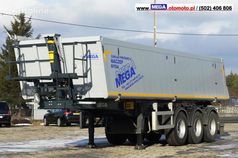MEGA 30 m³ - SUPER LIGHT - 5,300 KG - SUPER PRICE !!! READY !!! semi-reboque basculante novo