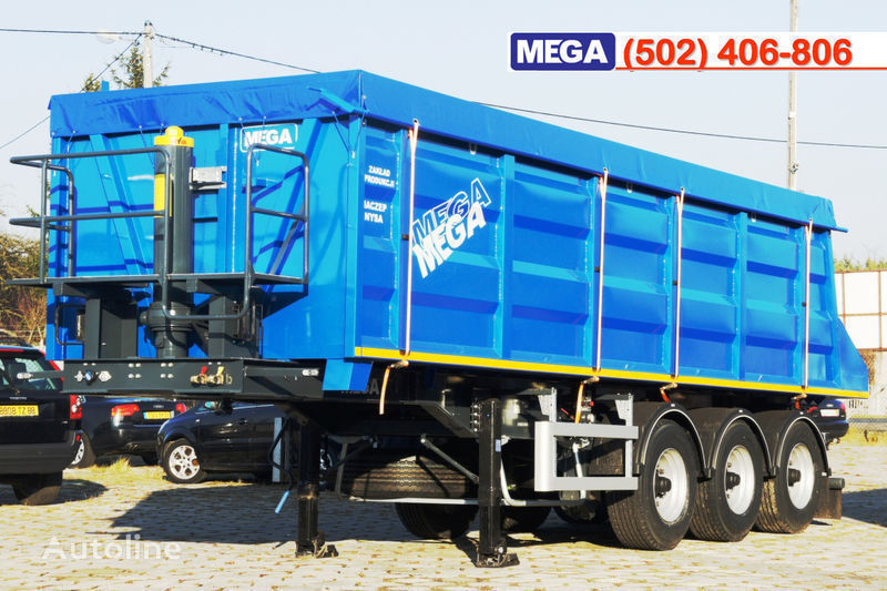 MEGA 35/9200 kcc - camosval 35 kub.m., pama k tyagachu 6x4, klapan! semi-reboque basculante novo