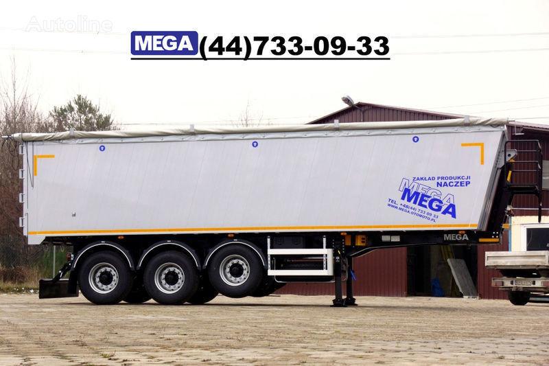 MEGA 39/8360KD- camosval 39 kbm, alyuminievyy, klapan-dverey GOTOV! semi-reboque basculante novo