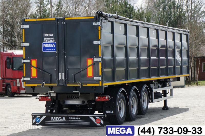 MEGA 55 M³ DOMEX/OPTIM 650 STEEL TIPPER / HATCH-DOOR & GRAINHOLES !! semi-reboque basculante novo
