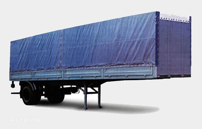 MAZ 938020 semi-reboque caixa aberta novo