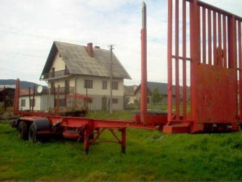 IWTHL SCHLUTUP FS 4020 semi-reboque de transporte de madeira