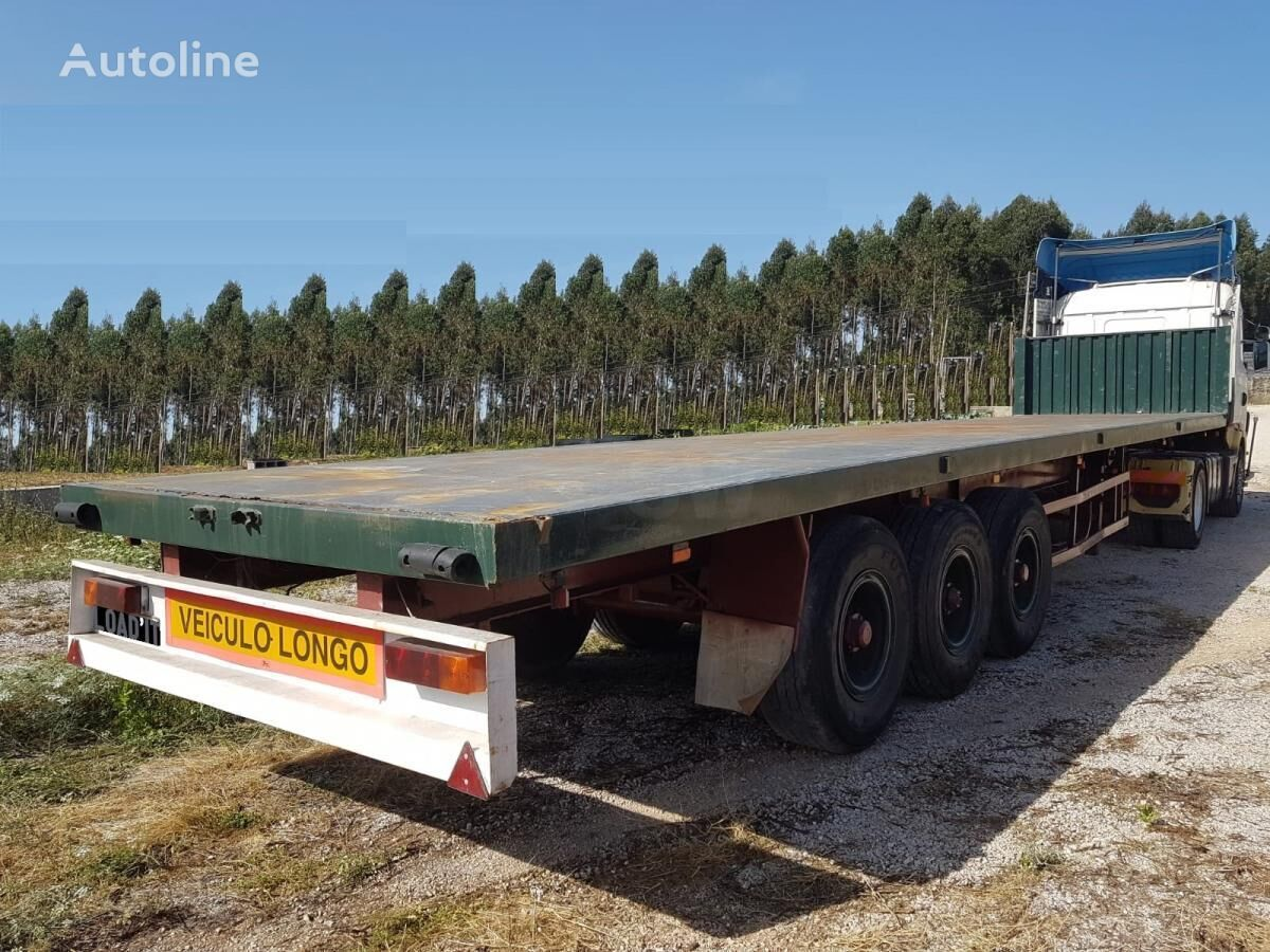 semi-reboque plataforma TRAILOR Flat Bed trailer