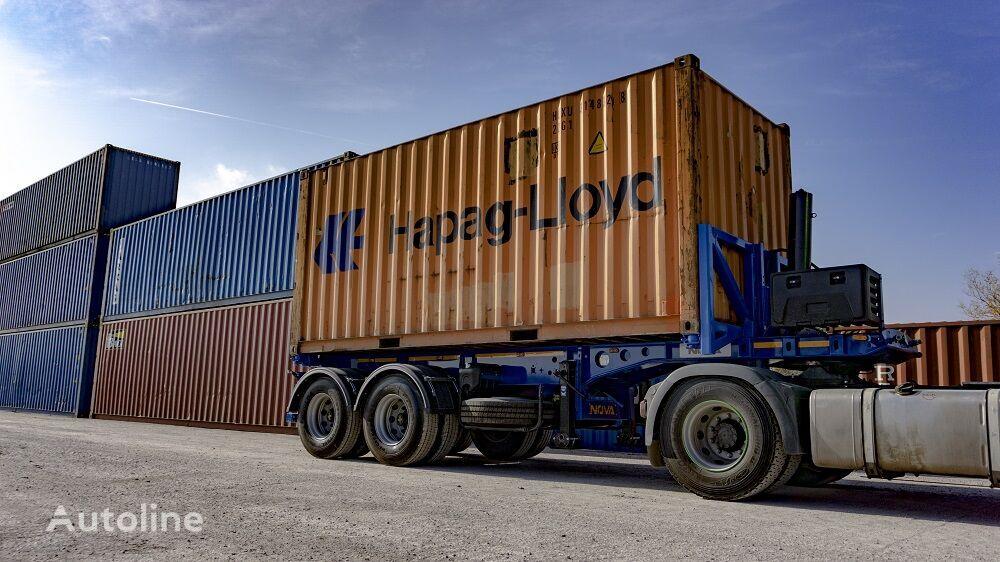 semi-reboque porta-contentores NOVA 20 ft Tipping Container Trailer novo