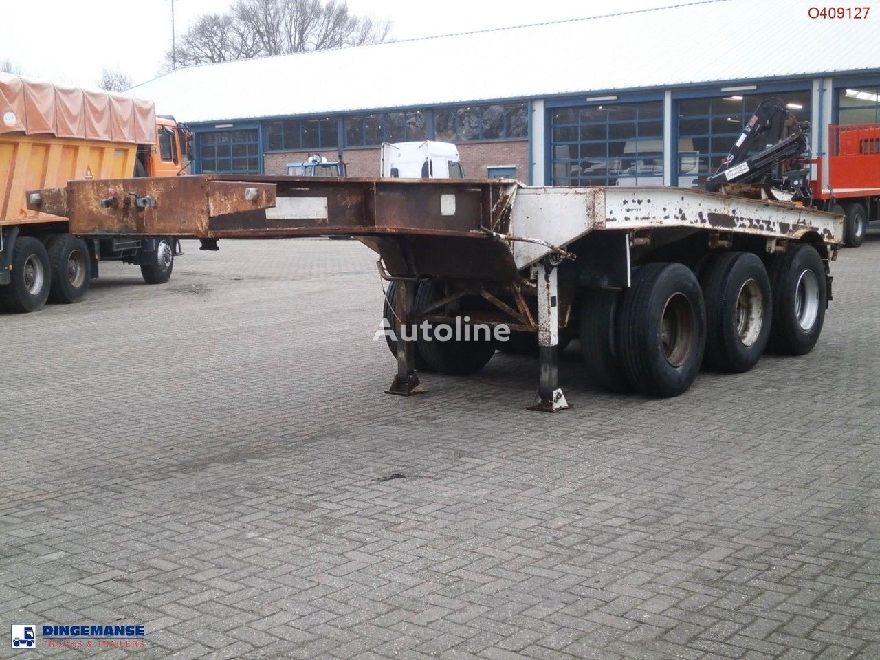 TRAYL-ONA 3-axle dolly trailer / 62000 kg semi-reboque porta-contentores