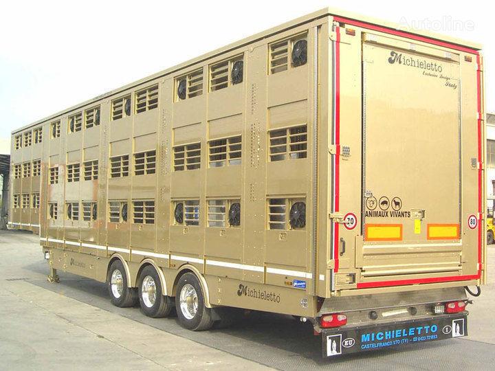MICHIELETTO semi-reboque transporte animais novo