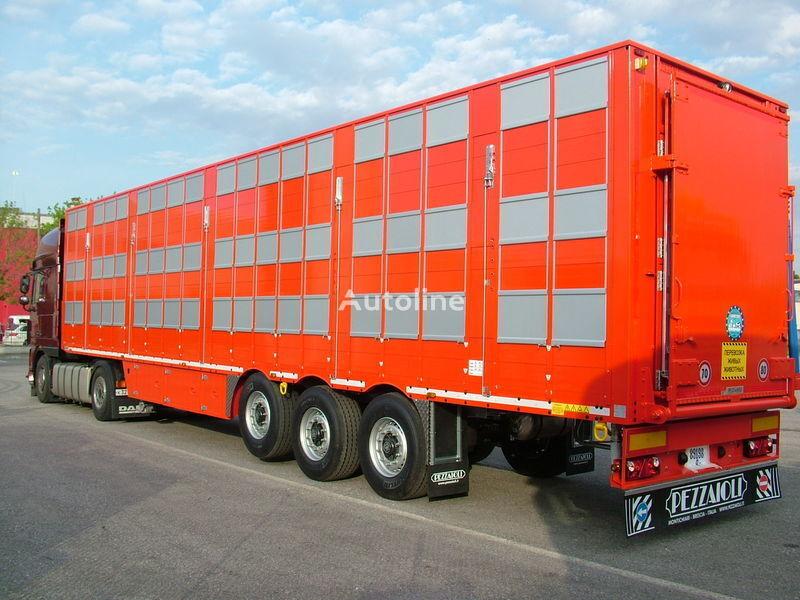 PEZZAIOLI SBA63 3 etazha zagruzki semi-reboque transporte animais novo