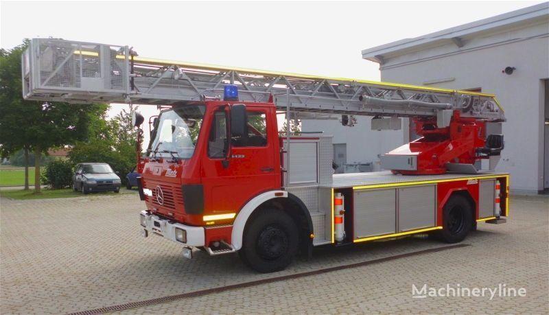 MERCEDES-BENZ F20126-Metz DLK 23-12 - Fire truck - Turntable ladder  auto-escada