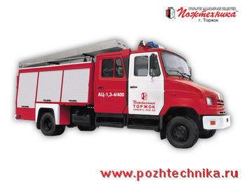 ZIL  AC-1,3-4/400 auto-tanque de bombeiros