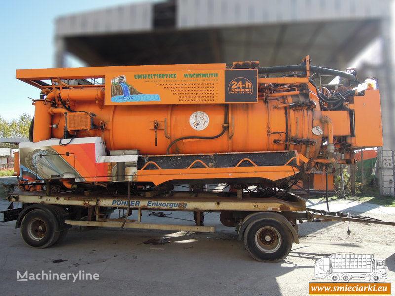 D/MRW/0173-18 camião aspirador