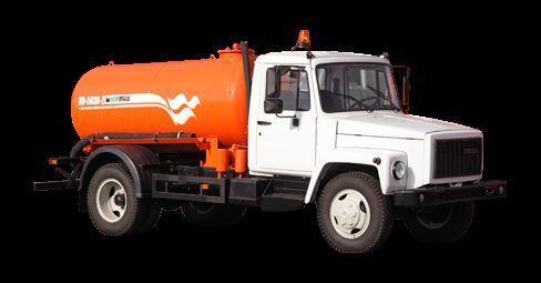 GAZ Vakuumnaya mashina KO-503V-2 camião aspirador