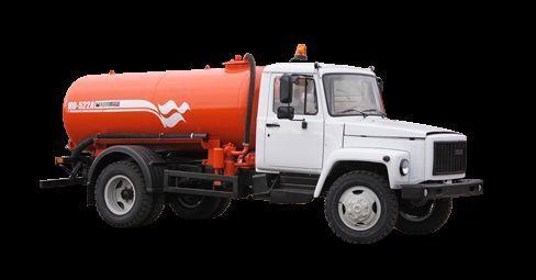 GAZ Vakuumnaya mashina KO-522B camião aspirador